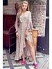 Cecilia Maxi Dress - White / Multicolour