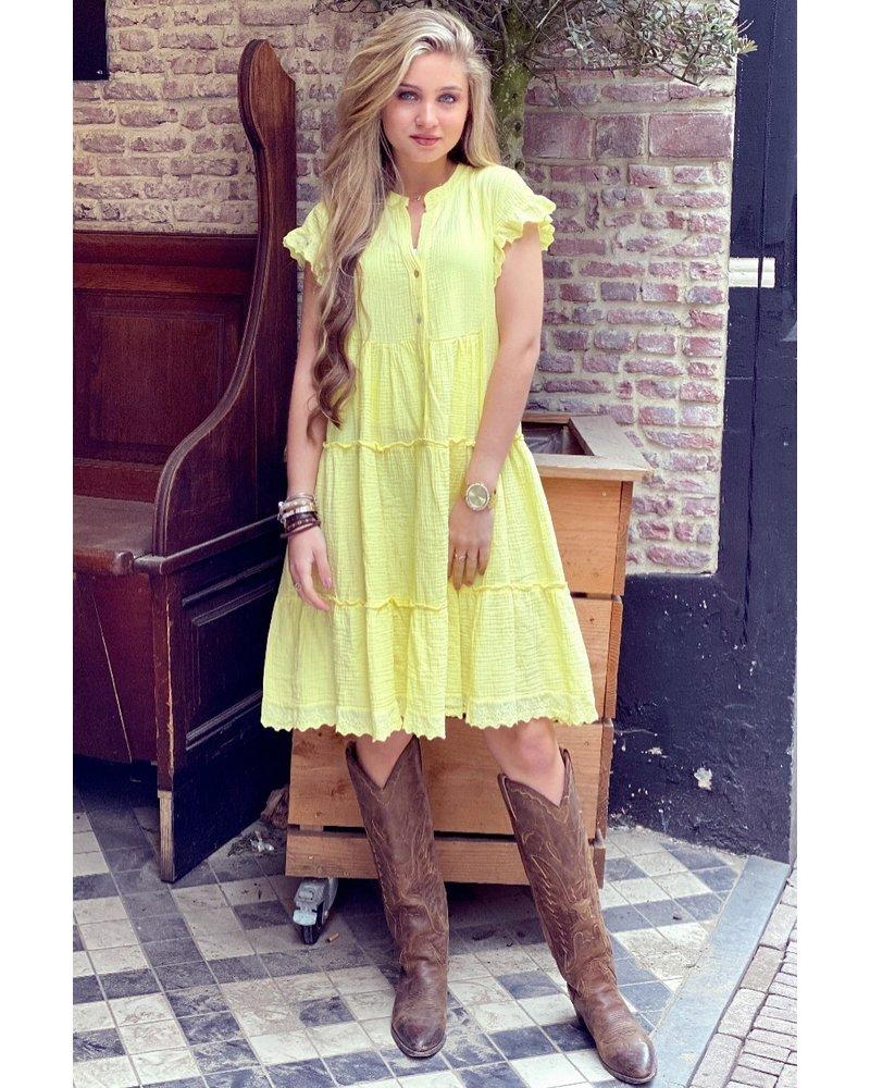 Naomi Dress - Yellow