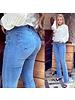 Push Up Flare Jeans - Denim