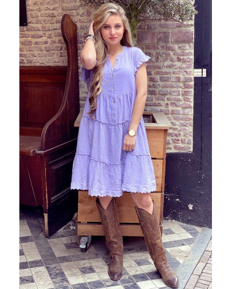 Naomi Dress - Lilac