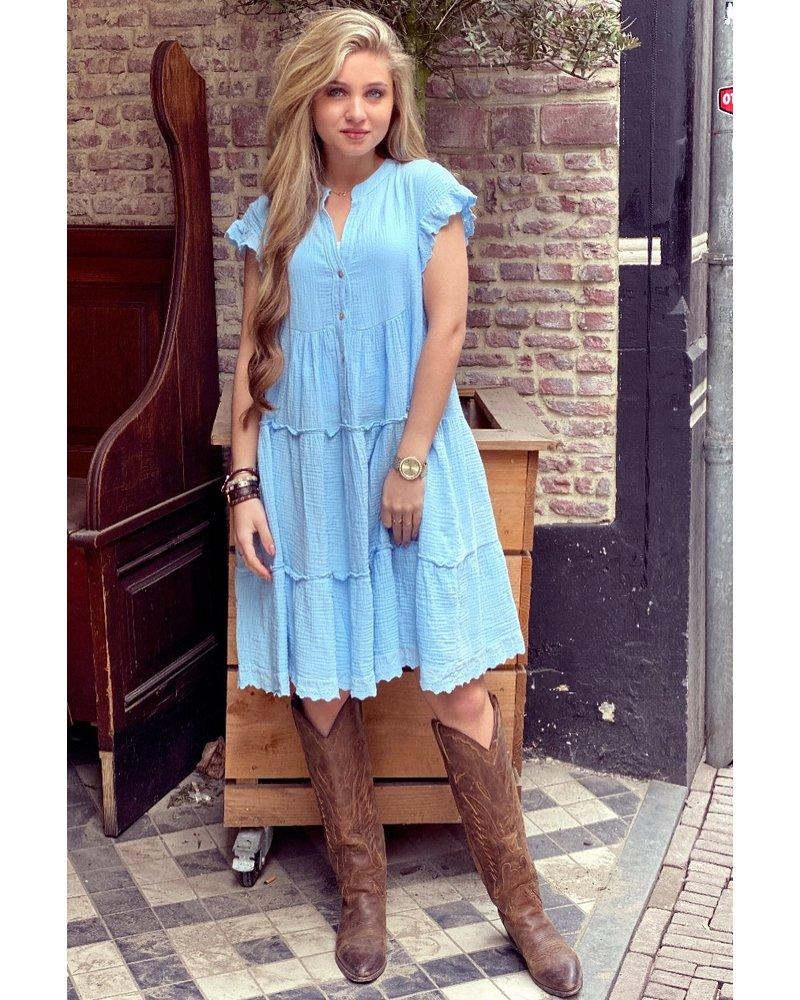 Naomi Dress - Light Blue