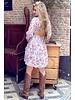 Lydia Flower Dress - White