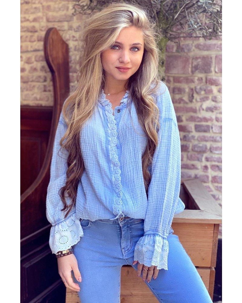 Charlot Blouse - Blue