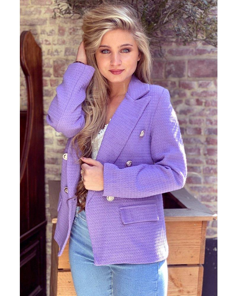 Mica Blazer - Lilac