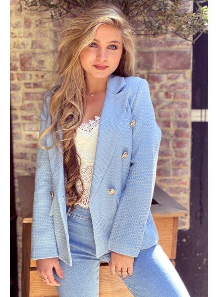 Mica Blazer - Blue