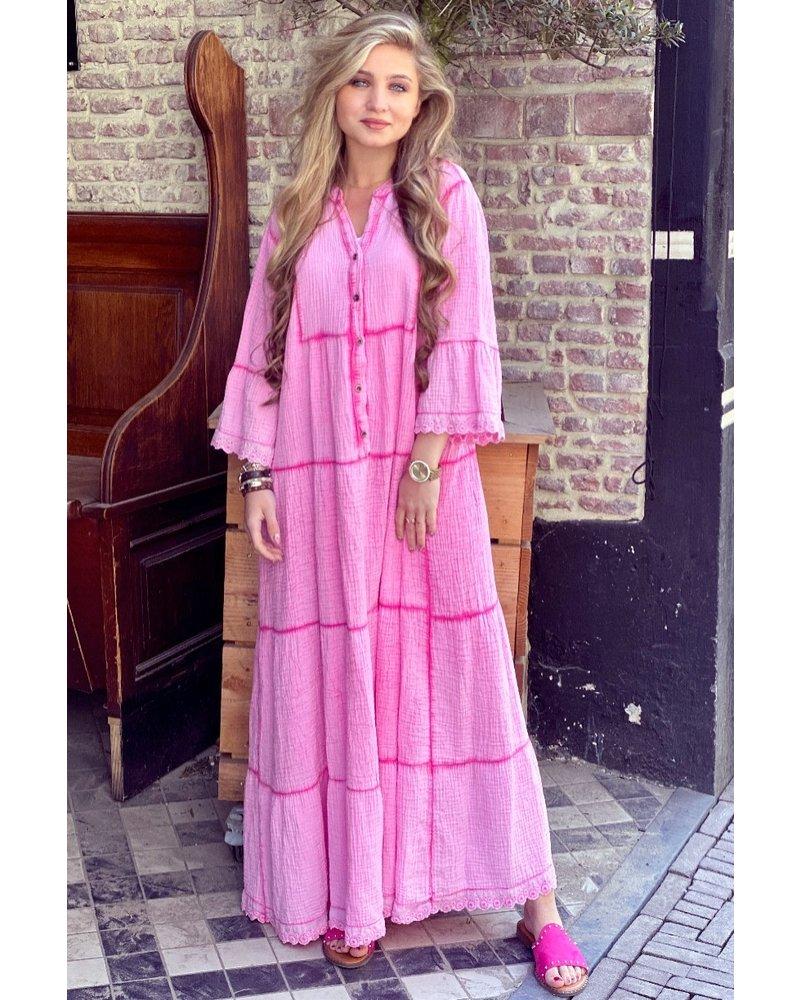 Suze Maxi Dress - Pink