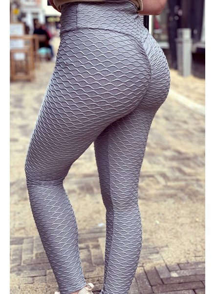 Booty Lifting Legging - Grey
