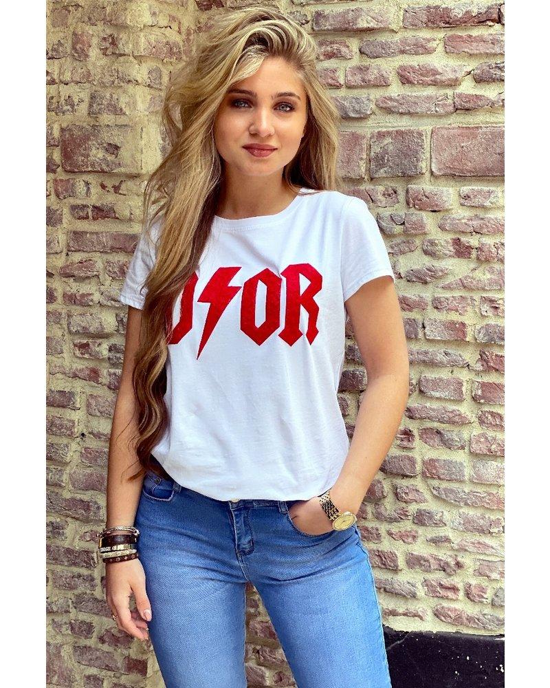 Teddy Flash T-shirt - Red
