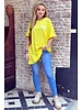 Oversized Flash T-shirt - Yellow