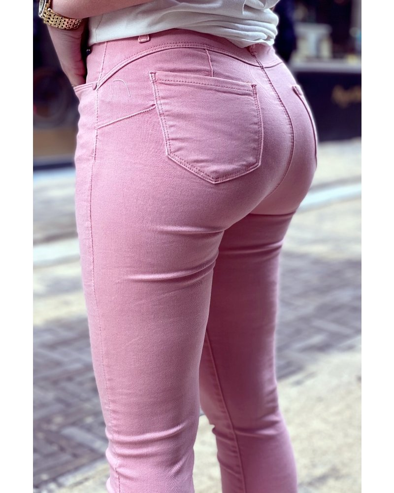 Shirley Push Up Jeans - Pink