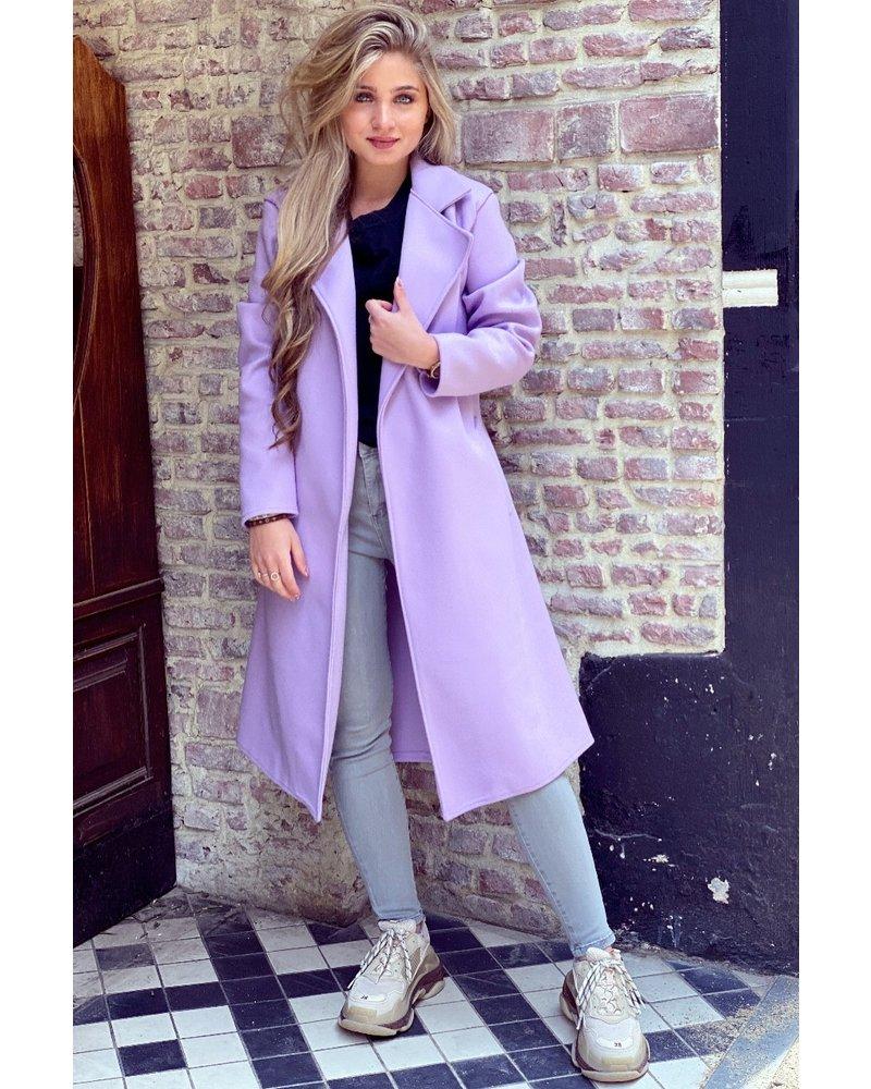 Poppy Parisian Coat - Lila