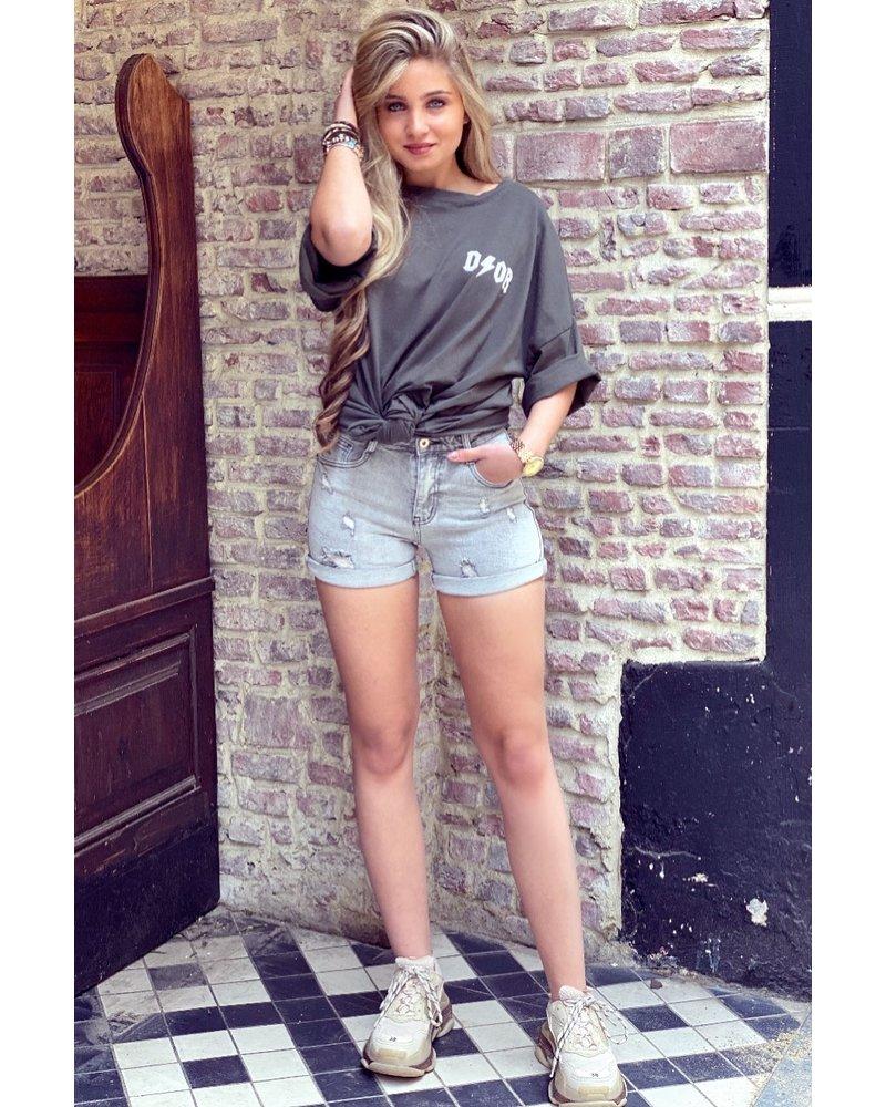 Maja Short - Grey