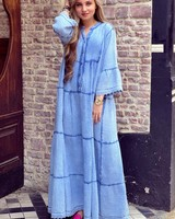 Suze Maxi Dress - Blue