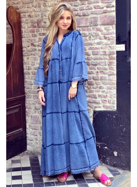 Suze Maxi Dress - Navy