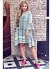 Suze Short Dress - Green