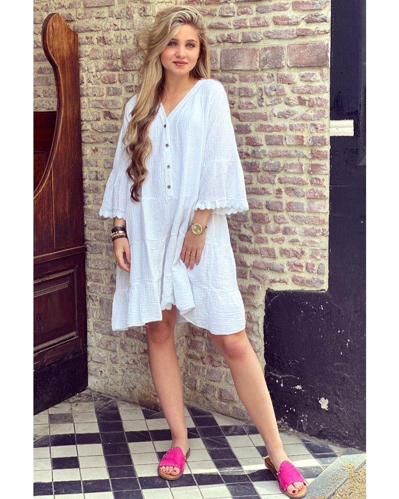 Harley Dress -White