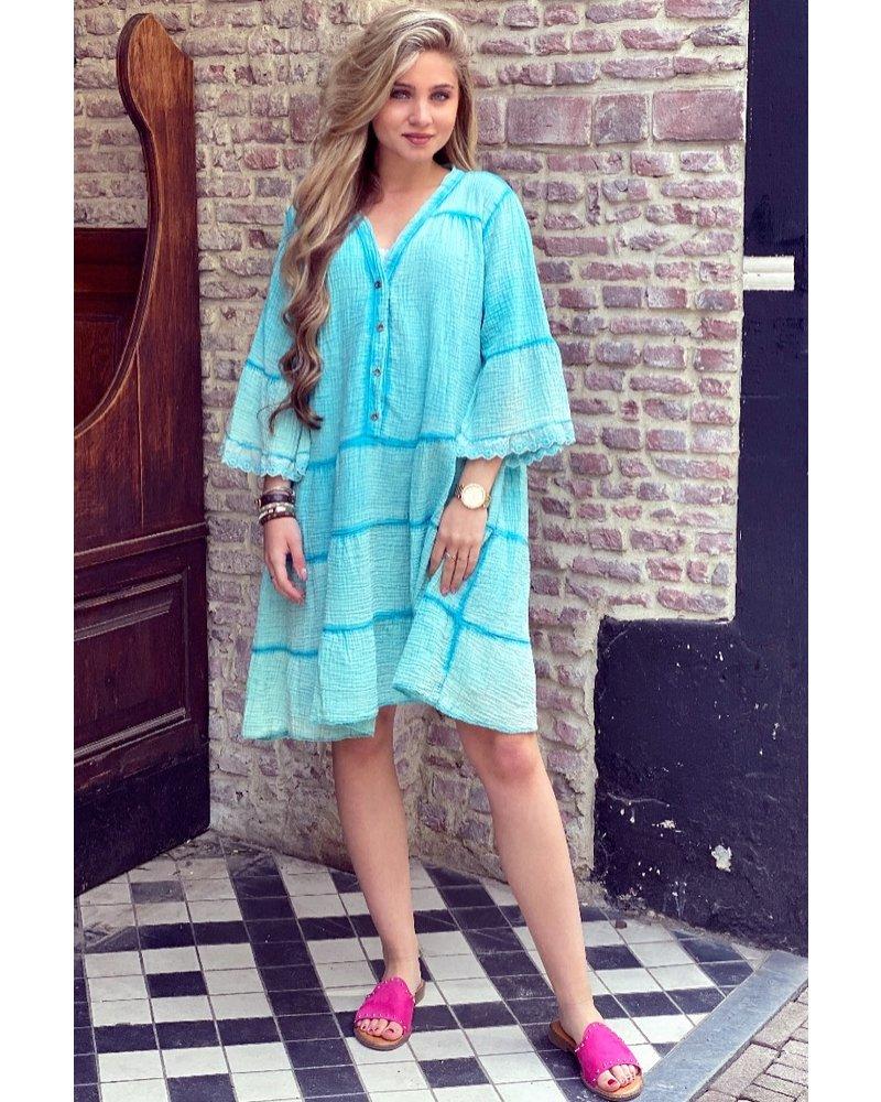 Harley Dress - Turquoise