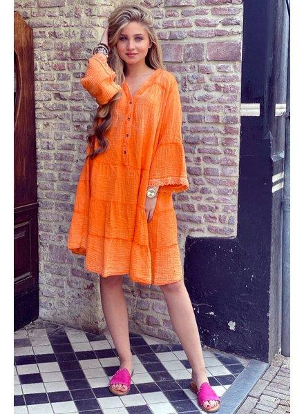 Harley Dress - Orange
