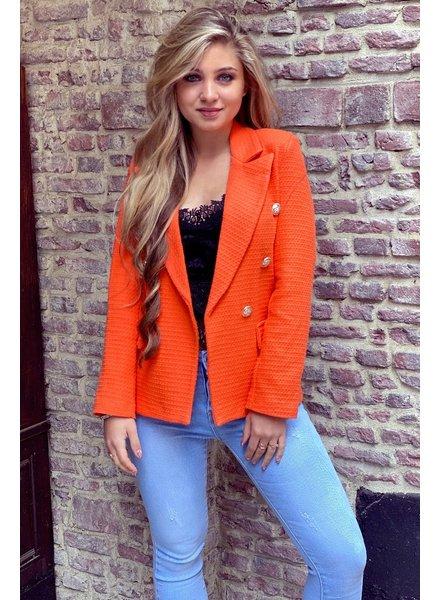 Mica Blazer - Orange