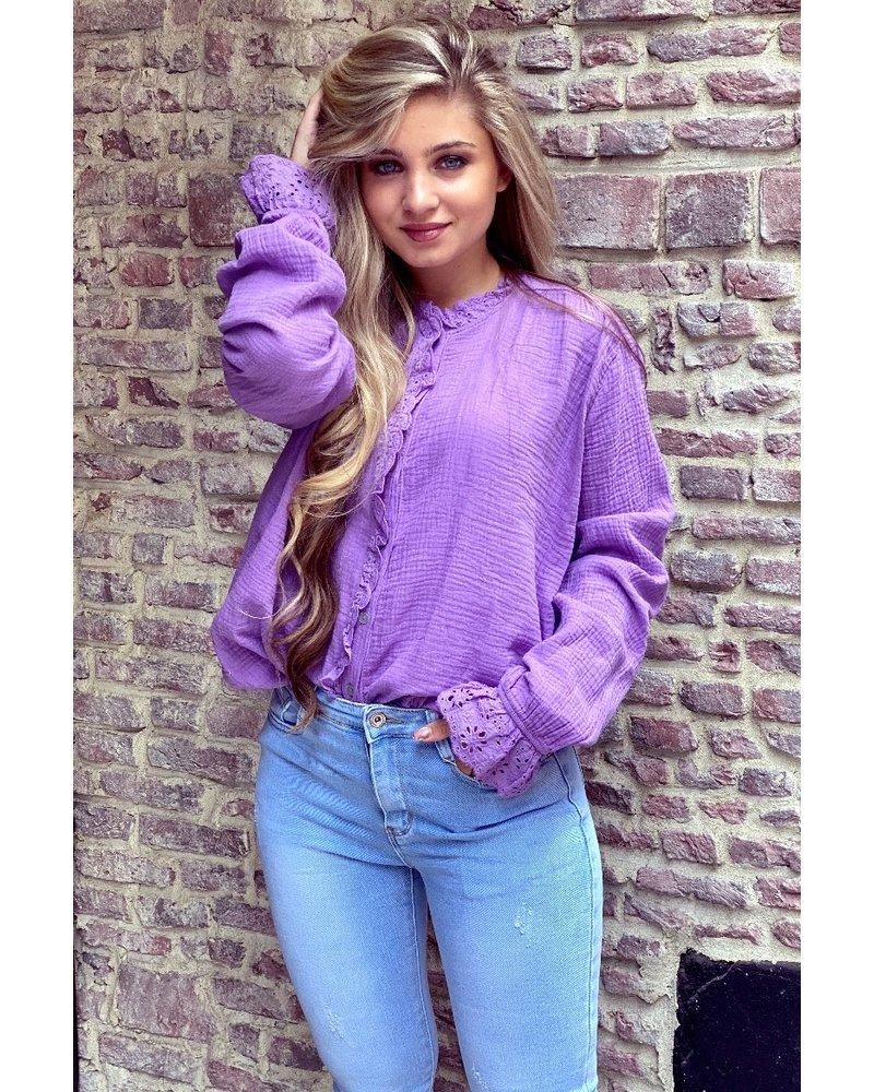Mae Blouse - Purple