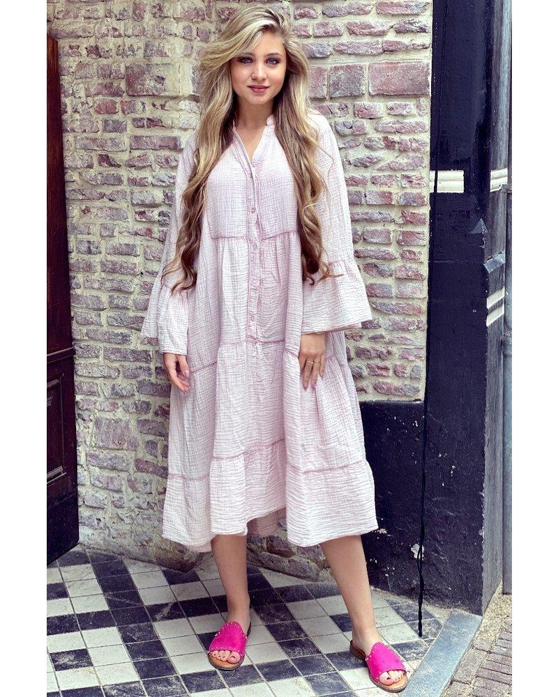 Saar Dress - Light Pink