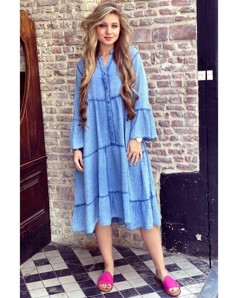 Saar Dress - Blue