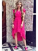 Lize Dress - Fuchsia