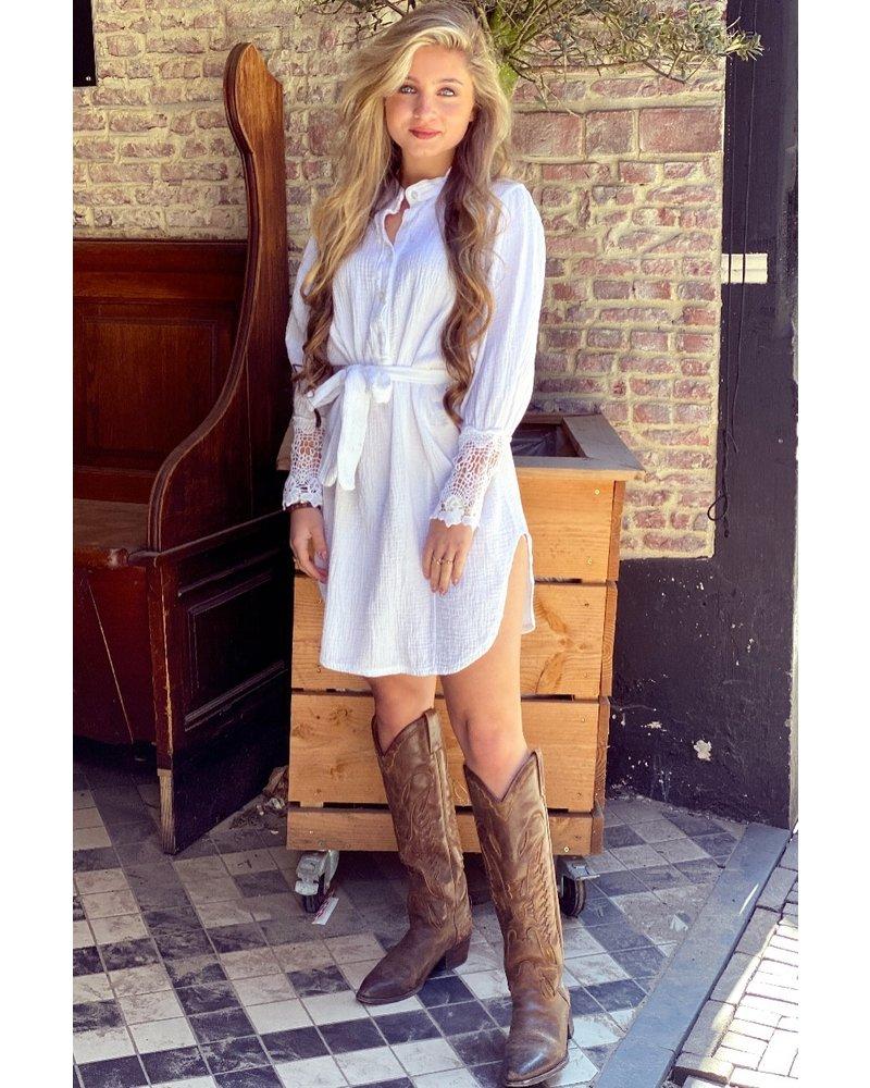 Veerle Dress - White