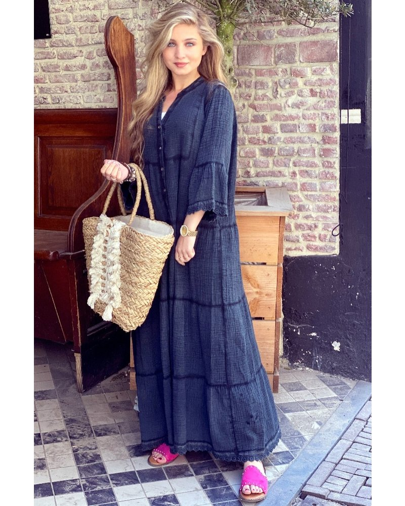 Suze Maxi Dress - Black