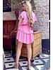 Jane Ruffle Dress - Light Pink