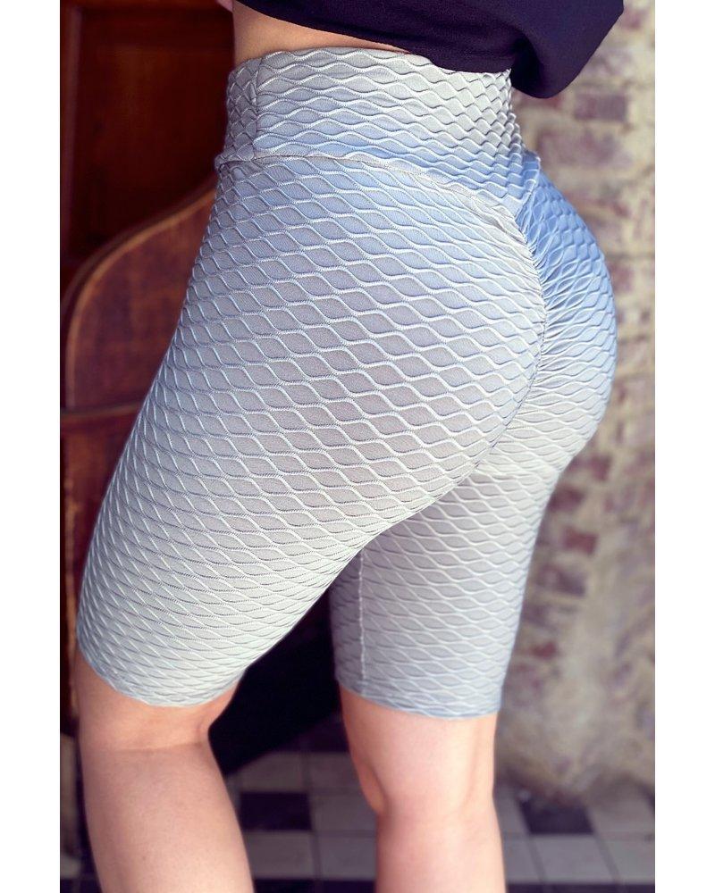 Short Booty Lifting Legging - Grey