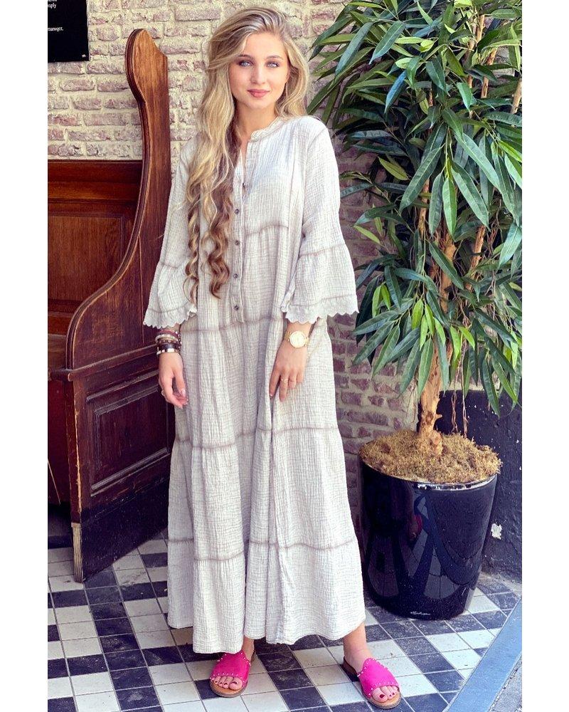 Dani Maxi Dress - Beige