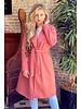 Poppy Parisian Coat - Old Pink