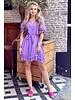 Fleur Dress - Purple