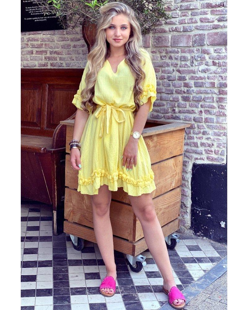 Fleur Dress - Yellow