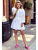 Mandy Dress - Off White