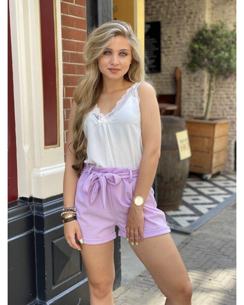 Stylish Summer Short - Lilac