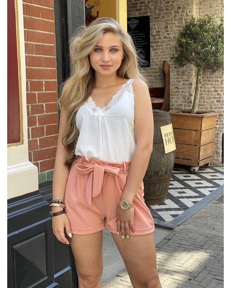 Stylish Summer Short - Light Pink