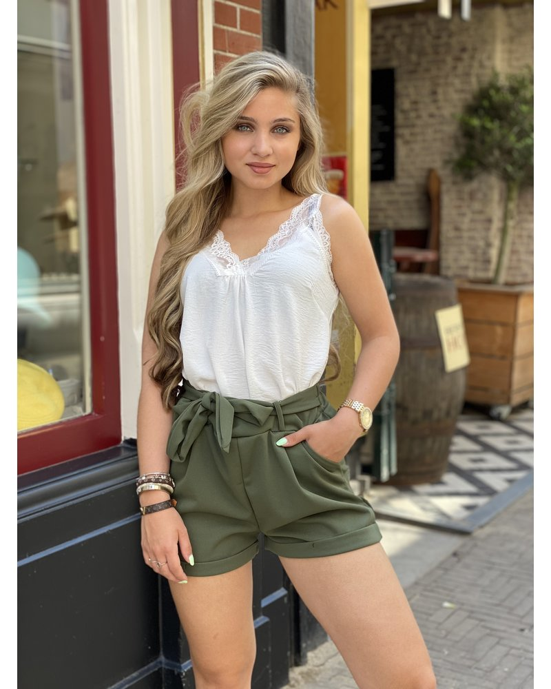 Stylish Summer Short - Army Green