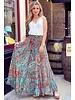 Jocelyn Skirt - Turquoise/Pink/Orange