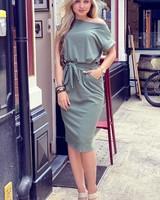 Perfect Basic Dress - Light Green