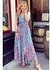 Suus Strik Dress - Blue/Pink/Turquoise