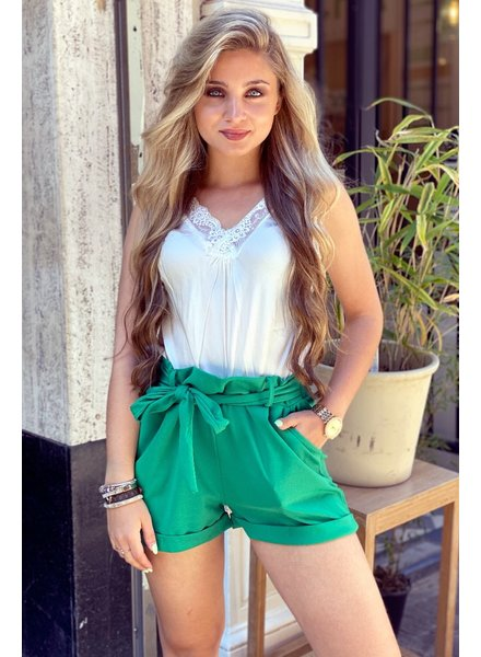 Stylish Summer Short - Green