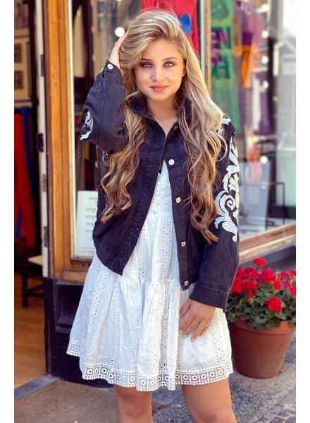 Loua Jacket - Black/Silver