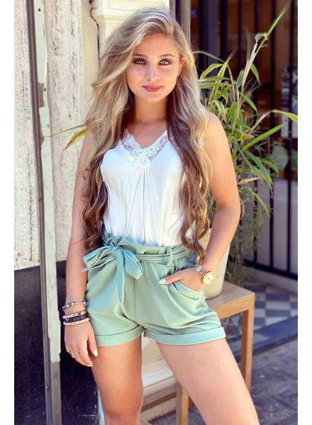 Stylish Summer Short - Light Green