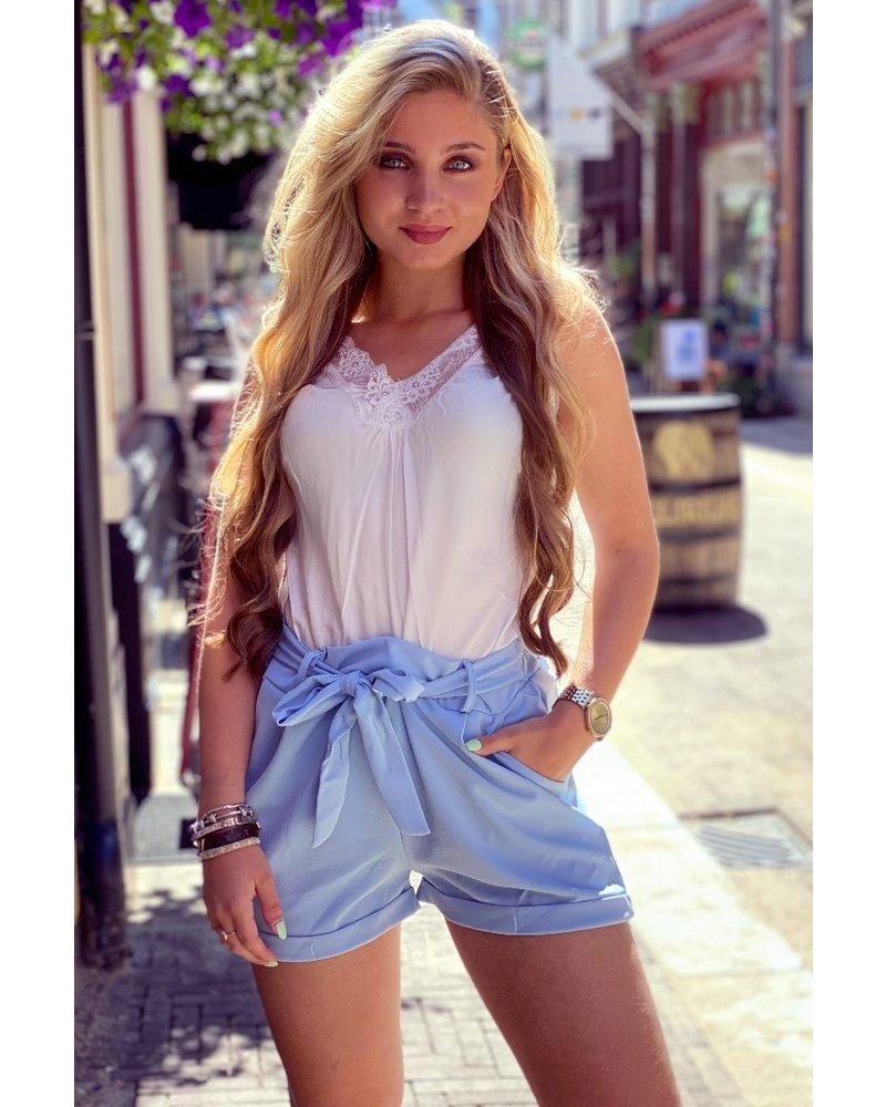 Stylish Summer Short - Light Blue