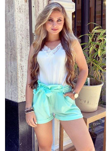 Stylish Summer Short - Mint