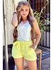 Stylish Summer Short - Yellow
