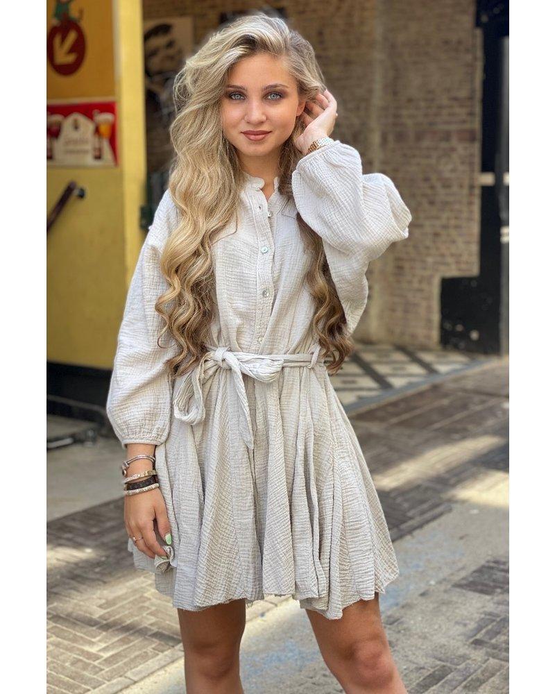 Mandy Dress - Beige