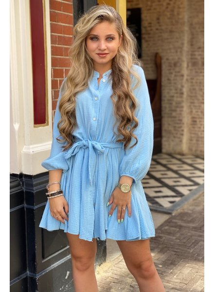 Mandy Dress - Light Blue